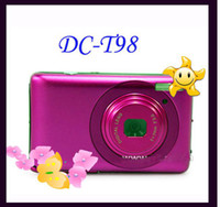 Wholesale DCT98 DVR Digital Camera MP x digital Zoom inch TFT LCD camera DC T98 Sample
