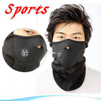 Wholesale 3 colors Ski Snowboard Motorcycle Bike Face Mask Neck Warm sports mask