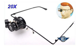 Wholesale New Glasses Type Watch Repair X LED Magnifier