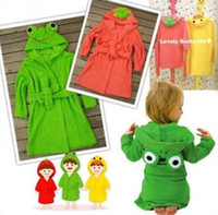 bath costumes - Linda linda hooded bathrobe Costume bath towel bath robe Children s Robes Towels