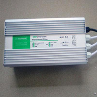 Wholesale 1PIECE V A W LED Transformer Waterproof IP67 for low voltage led light fixtures