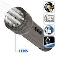 Wholesale 2GB Spy Camera DVR LED Flashlight Spy Digital Video Recorder Hidden Cam SP44