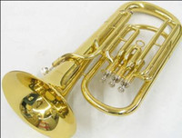 Wholesale Professional Brass Super Bb BARITONE TUBA PISTON HORN W case special