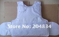 Wholesale white PE UD fabric Conceal Bulletproof Vest UV resistance sunlight low temperature waterproof Vest