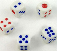 Wholesale best selling white dice Cheapest Specially products dice game dice gambling dice