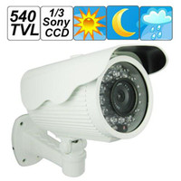 Wholesale High Quality TV Lines Sony CCD Weatherproof Surveillance Video Camera