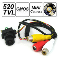 CCD Indoor  520 TVL 1 3 CMOS MC495 Pinhole Spy Camera Support Video and Audio Output