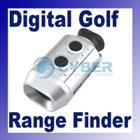 Wholesale 7x Golf Range Finder Digital Scope W bag Rangefinder Pocket size High quality In Digital Tech
