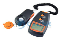 Wholesale Digital Light Lux Measuring Meter With Max LCD Camera Photo Orange With Carry Case