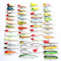 Wholesale 100 More than styles amp colors Fishing Lure Bait Minnow lures Vibe Crank Poppers Lures