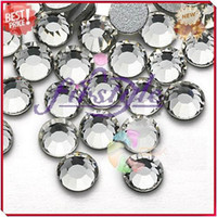 Wholesale Nail Rhinestone SS16 mm Crystal Clear Color Non Hotfix Flatback Rhinestones