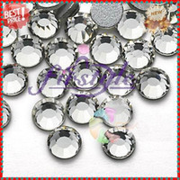 Wholesale Nail Rhinestone SS30 mm Crystal Clear Color Non Hotfix Flatback Rhinestones