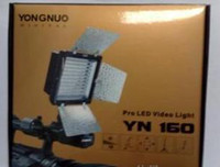 Wholesale 4 GOOD QUALITY YONGNUO YN160 LED Video Light LED Camera Light for DSLR Camera DV Camcorder