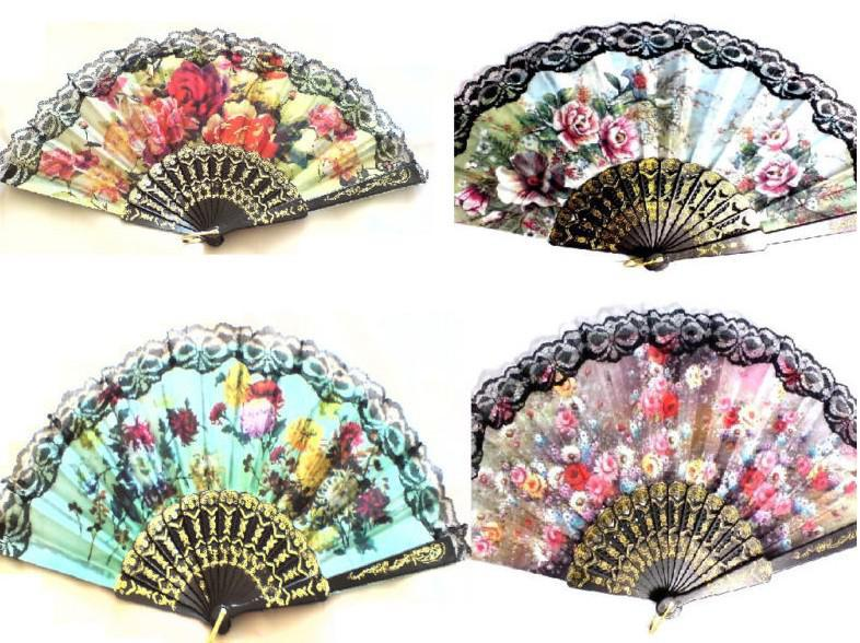cheap wedding party decoration lace fan best valentines day lace cut designs - Decorative Fans