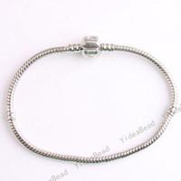Unisex snake bracelet - 20cm LOVE Snake Bracelets Chain Fit European Beads