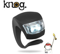Wholesale The fifth frog light silicon light bicycle warning bicycle front light rear light
