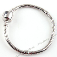 Wholesale Child Snake Chain Bracelet Fit european Charms Beads cm