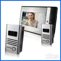 Wholesale 1pcs Video Door Phone Cameras Monitor Photos Memory to1 intercom system doorbell egomall