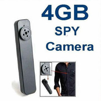 4G   4GB Spy Button Hidden Camera Pinhole DVR 640x480 Digital Video Camera Mini Cam in Black e_shop2008