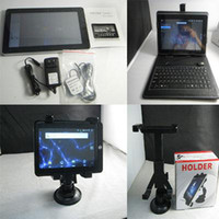 Wholesale Christmas Flytouch Epad inch Tablet PC Android With Keyboard Case amp Car Holder Combination