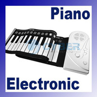 Wholesale Portable ROLL UP Soft Electronic USB Piano Organ Keyboard New Keys and Function