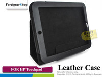 Wholesale 50 New Stand PU Folio Leather Case Cover Skin for HP Touchpad Tablet CS HP TOUCHPAD