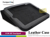Wholesale 20 New Stand PU Folio Leather Case Cover Skin for HP Touchpad Tablet CS HP TOUCHPAD