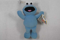 sesame street - Hot sell quot Red And Blue Sesame Street Elmo Stuffed Plush Dolls Toys