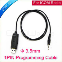 Wholesale item USB Programming Cable IC V8 F11 F21 for ICOM Radio Walkie Talkie J0009A