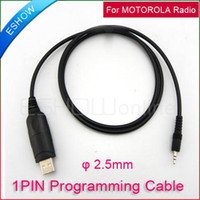 Wholesale USB Programming Cable for MOTOROLA Radio Walkie Talkie GP88S GP3688 GP2000 J0010A