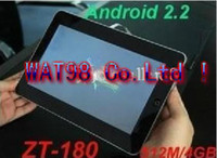 Wholesale 10 Inch Tablet PC UMPC ZT180 Google Android2 EPAD MB GB WIFI GPS Bluetooth G GHz