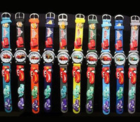 Wholesale Christmas gift Watches CAR D Mixed Cheap Children watch cartoons Quartz