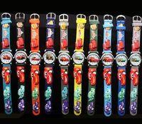 Wholesale Christmas gift Watches CAR D Mixed Cheap Children watch cartoons Quartz