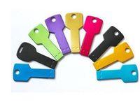 50g key shape usb flash drive - Key shape USB Flash Drive With different Colors full memory with GB GB GB GB GB