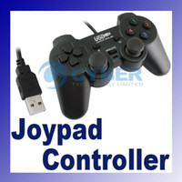 Wholesale USB GamePad Double Game pad Joystick Joypad Controller PC Plug amp Play
