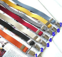 Wholesale 18 colors CLIPS ADJUSTABLE CHILDREN S BRACES KID S BRACE SUSPENDERS MIX ORDER DROPSHIPPING