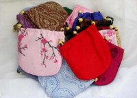 Wholesale Silk satin brocade jewelry bags cm cm
