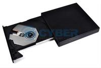 Wholesale Black USB External Slim Drive Portable Optical CD DVD ROM Drives For Laptop PC