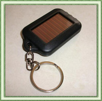 Solar energy charging 3LED key chain ultra bright torch flas...