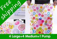Wholesale 5pcs large vaccum storage bags set bags clothes storage bags compression storage bags SN07A