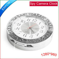 Wholesale Spy Camera Clock Mini DVR HD Video Recorder Camcorder Motion Detection B0001D