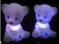 Wholesale Soccer Bear colorful night light to spread the sources the new LED electronic toys strange dream