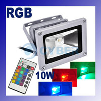 Wholesale 10W V RGB Projection LED Flood Wash Light Floodlight Outdoor Color Change Play Grounds Yards