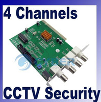 Wholesale DVR Card CH Channels CCTV System Security Equipment PCI Video Capture Pan Tilt Zoom Control