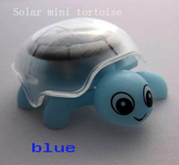 Wholesale 2011 Brand New Mini Solar Power Tortoise Turtle Animal Toys Children s day Gifts