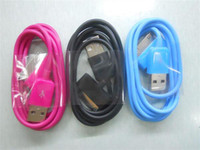 Wholesale hot sale colorful usb cable for iphone3G3GS4G ipods ipads Colorful USB Cable For G3GS4G