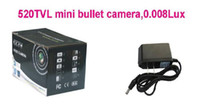 Wholesale TVL mini bullent camera DC12V mini camera