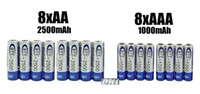 Wholesale 16pcs BIG SALE AA mAh mAh NiMH Ni MH v Rechargeable Recharge Battery Batteries pack