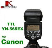 Precio de Eos xti rebelde-TTL Speedlite YN565EX Yongnuo YN-565 para EOS Digital Rebel XS XSi XTi T1i T2i T3 GN58 más nuevo