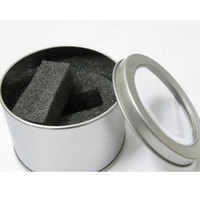 Wholesale Metal Watch box Round box Gift box stainless steel Circle BOX package